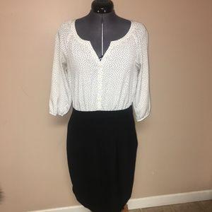 Loft Polka Dot Dress size 6